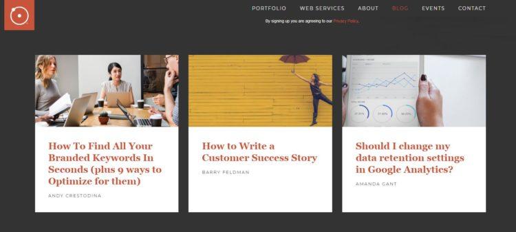 блог о маркетинге Orbit Media