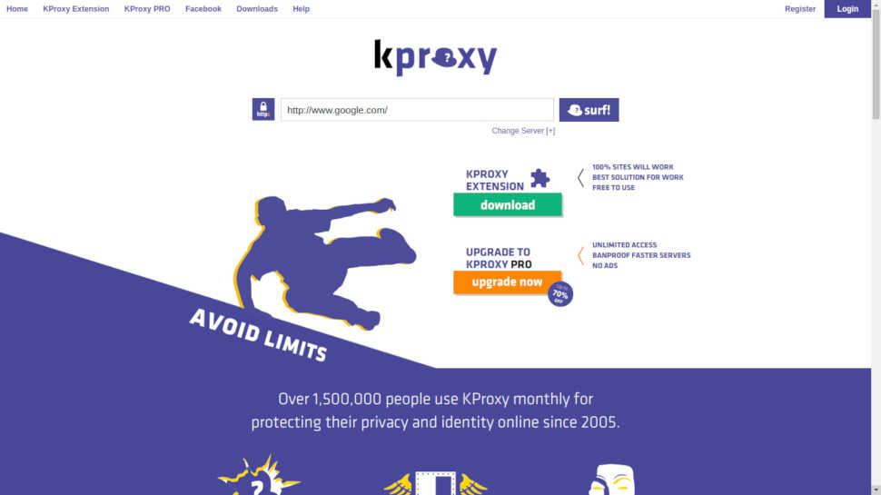 KProxy прокси-сервер