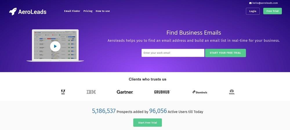 Инструменты для парсинга адресов электронной почты: сервисы и парсеры имейлов - Aeroleads