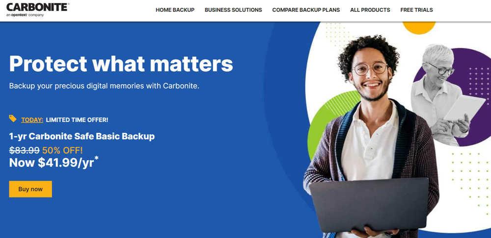 Carbonite Safe - резервные копии для бизнеса