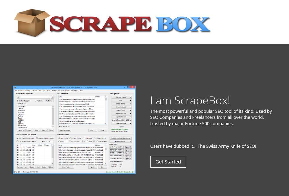 Программа  Scrapebox Email Extractor