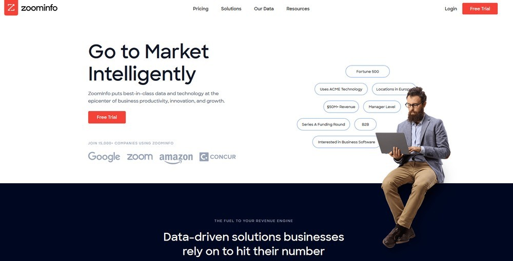 Инструменты для парсинга адресов электронной почты: сервисы и парсеры имейлов - Zoominfo